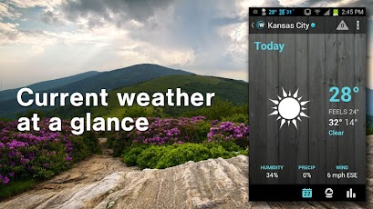 "Weather: Local Forecast, Radar ""1Weather is the most loved weather app on Google Play"""