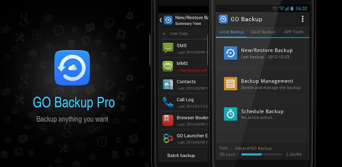 GO Backup & Restore Pro Premium Apk v3.44