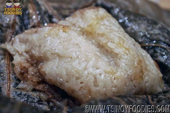 glutinous rice lotus leaf
