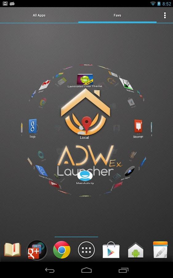 adw launcher apk