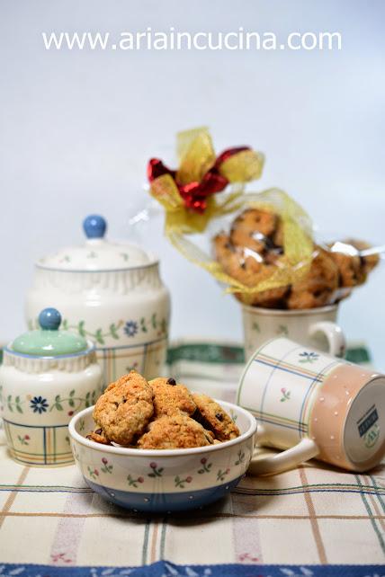 blog di cucina di aria: biscotti vegani integrali - veg cookies - Blog Di Cucina Vegana
