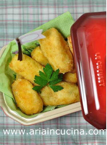 Blog di cucina di Aria: Crocchette di patate e prezzemolo