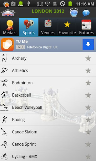 olympic London 2012 apk