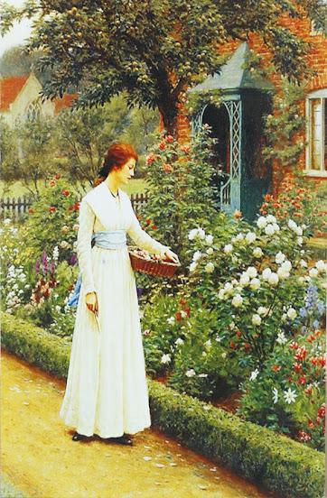 """Удел розы"". Эдмунд Блэр Лейтон."