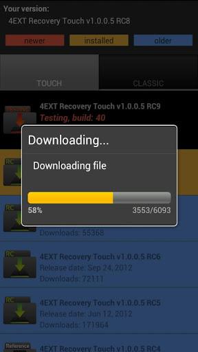 4EXT Recovery Control v2.4.5 Final Apk App