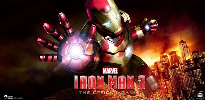 Iron Man 3 Mod APK+DATA v1.0.1 - Unlimited Money + Crystals - Free Shopping/Purchases