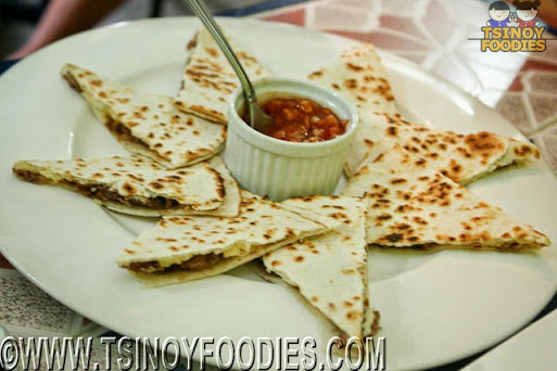 quesadilla mixto carne
