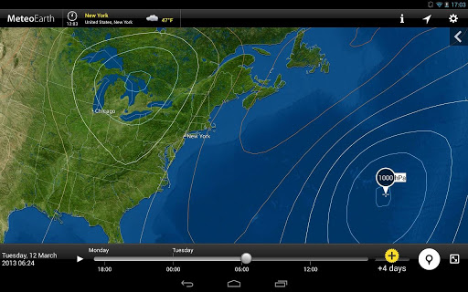 MeteoEarth android weather