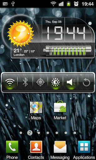 HD Metallic Widgets Apk v5.4