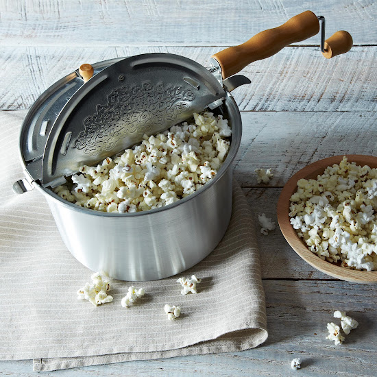 Original Whirley Pop Popcorn Popper with Purple and Red Non-GMO Popcorn | Provisions by Food52