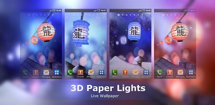 3D Paper Lights apk