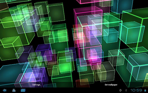 Cube Complex LWP v1.6 (Paid Version) Android Apk App Get
