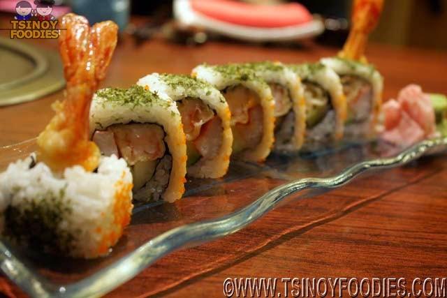 tempura ura maki