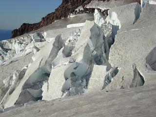 Crevase on Mount Rainier