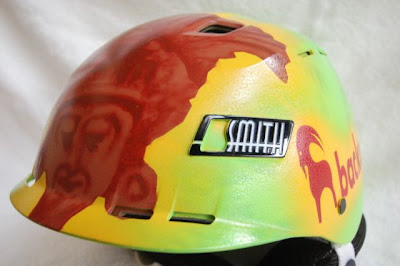 Sage Cattabriga-Alosa's custom helmet by Tower 13 and Backcountry.com