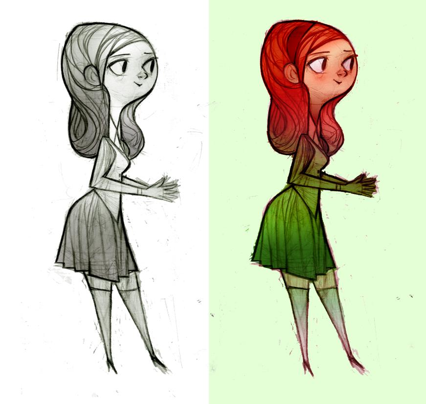 watermelon girl pics. Girls Drawing Girls: Please