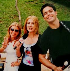Astrid , Luciana e Otaviano