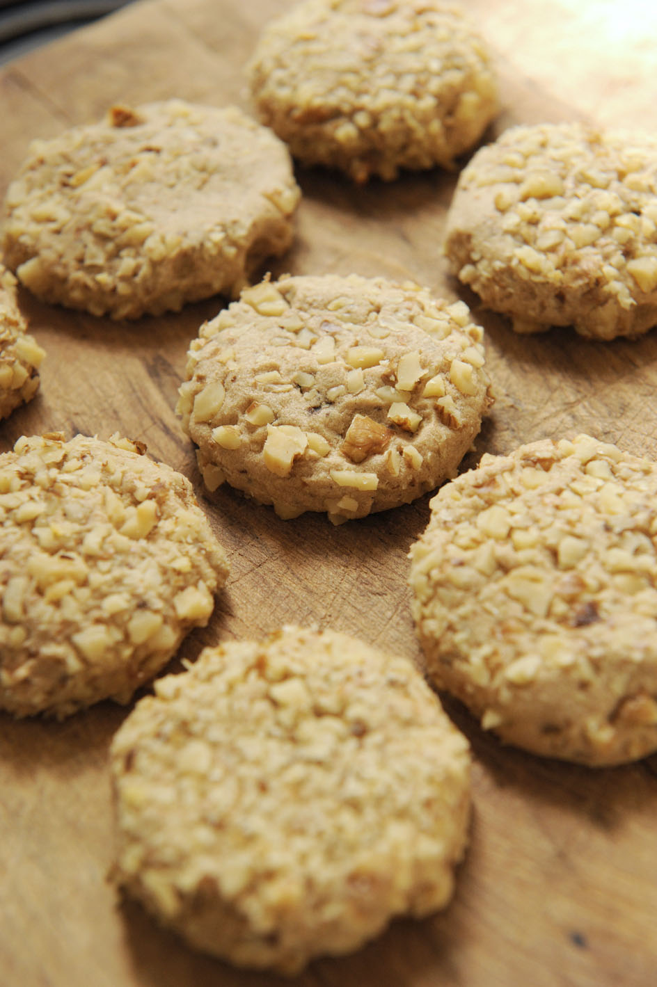 ... - Friday Baking Club: Public holiday baking - coffee walnut biscuits