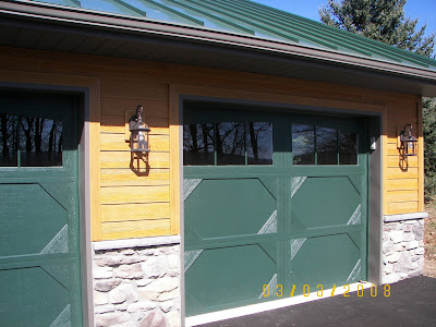 Fred e ocker builder 3 bay garage for Due bay garage
