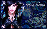 Adam Lambert Glam Nation Voodoo desktop wallpaper