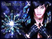 Adam Lambert Glam Nation Voodoo trippy wallpaper
