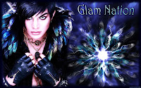 Adam Lambert Glam Nation trippy desktop wallpaper