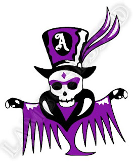Adam Lambert Voodoo staff skull T-shirt design