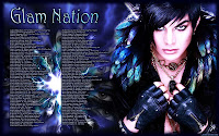 Adam Lambert Glam Nation trippy tour dates desktop wallpaper
