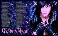 Adam Lambert Glam Nation ornate tour dates desktop wallpaper