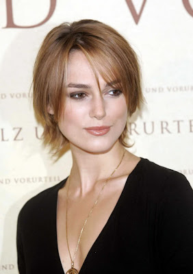 Marvelous Keira Knightley Short Layered Hairstyle