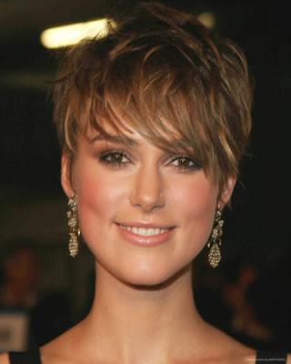 Keira Knightley Short Layered Hairstyle
