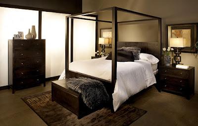 Modern Black Bedroom Furniture