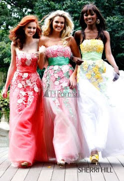2010  Sherri Hill Prom Dress