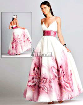 Blush 2010  Chiffon Gown  Dress
