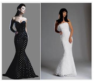 Unique Vintage  Prom Dresses 2010
