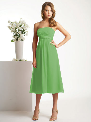 Delicate luxurious sweetheart neckline ruffle column blue chiffon knee length bridesmaid pink wedding dress   cheap allure bridesmaid pink wedding dresses