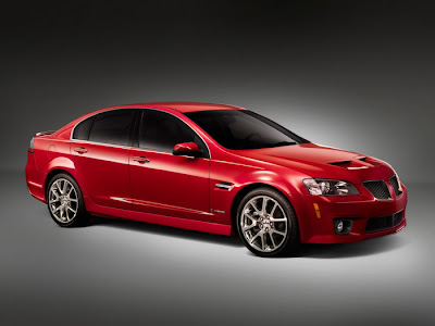 Popular Sedan in USA Pontiac G8