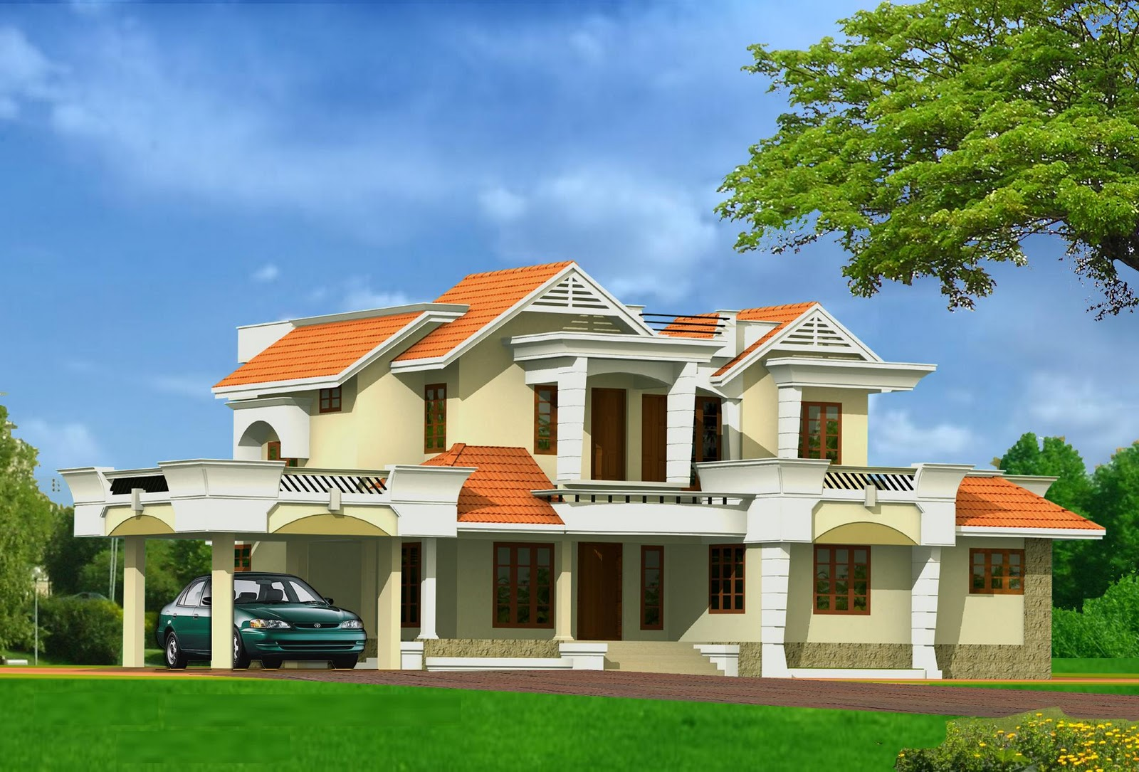 Residential building design the image for Residential home styles
