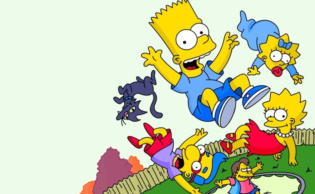 The simpsons bart lisa and maggie simpson with milhouse - Bart simpson nu ...