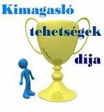 Kimagasló tehetségek - díj