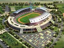 Para os amantes do futebol, o projeto de construçao de estadios toma a sua forma can2010