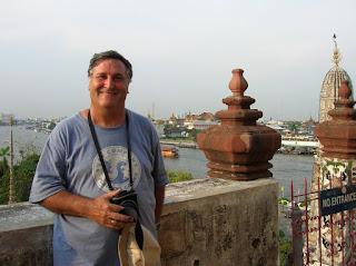 Vistas desde el Templo del Amanecer, Wat Arun, Bangkok, Tailandia, Tahilandia, vuelta al mundo, round the world, La vuelta al mundo de Asun y Ricardo