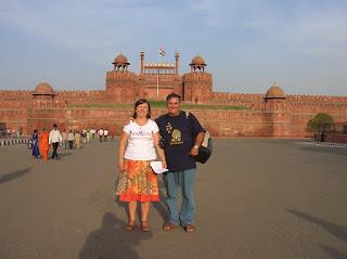 Fuerte Rojo, Rd Fort, Nueva Delhi, New Delhi, India, vuelta al mundo, round the world, La vuelta al mundo de Asun y Ricardo