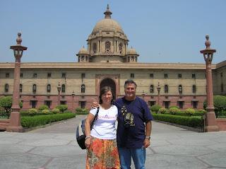 Resdencia del presidente, President's Palace, Viceroy's Residence, Nueva Delhi, New Delhi, India, vuelta al mundo, round the world, La vuelta al mundo de Asun y Ricardo