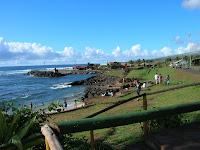 Puerto Hanga Roa, Isla de Pascua, Easter Island, vuelta al mundo, round the world, La vuelta al mundo de Asun y Ricardo
