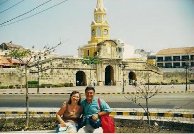 torre del reloj, cartagena de indias, colombia, caribe, Clock Tower, Cartagena de Indias, Colombia, Caribbean, vuelta al mundo, asun y ricardo, round the world