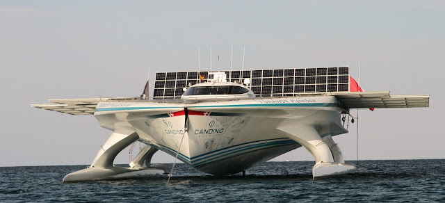 The SpeedList PlanetSolar Worlds Largest Solar Energy