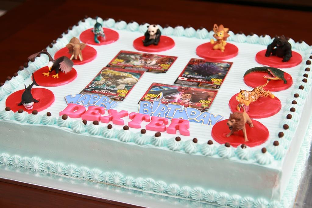 Haven Bakery Dexter Animal Kaiser Birthday cake
