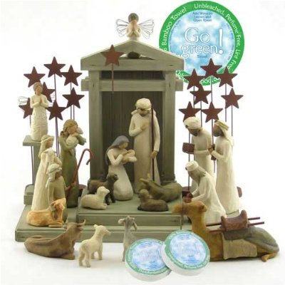 willow tree nativity: