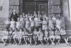 école des filles,  Cours MOYEN,année scolaire  de 1963